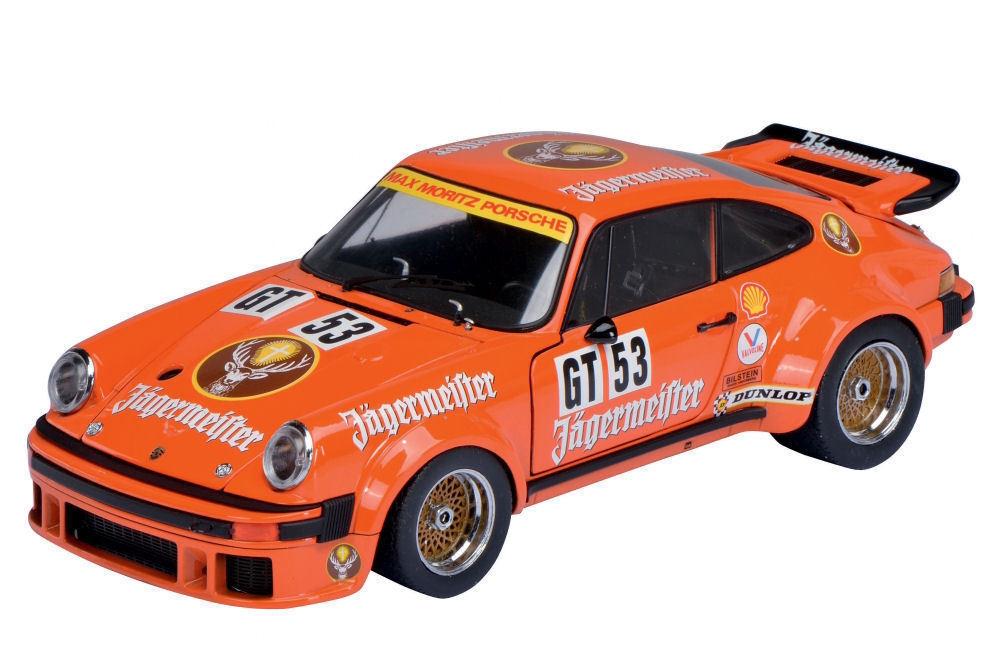 Schuco Porsche 934 Rsr Jagermeister Gt 53 Limited Edition 2000 Pieces 1 18
