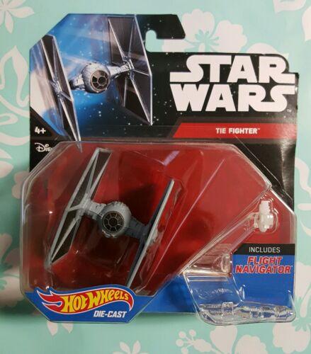 Neuf Star Wars Hot Wheels Tie Fighter comprend vol Navigator
