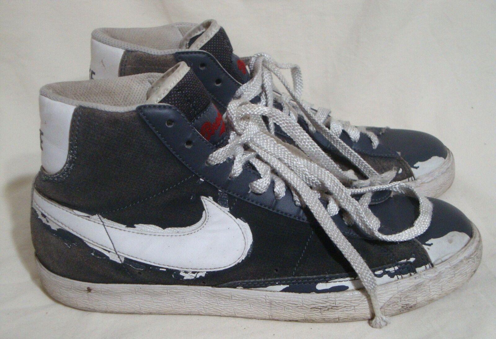 sports shoes e4bd8 d3987 Jackie Robinson zapatillas Nike gamuza zapatos de gamuza Nike tobillo  Brooklyn Dodgers Gris hombres el último descuento zapatos para hombres y  mujeres ...