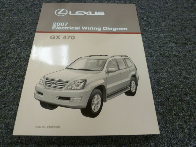 2007 Lexus Gx 470 Suv Electrical Wiring Diagram Manual 4