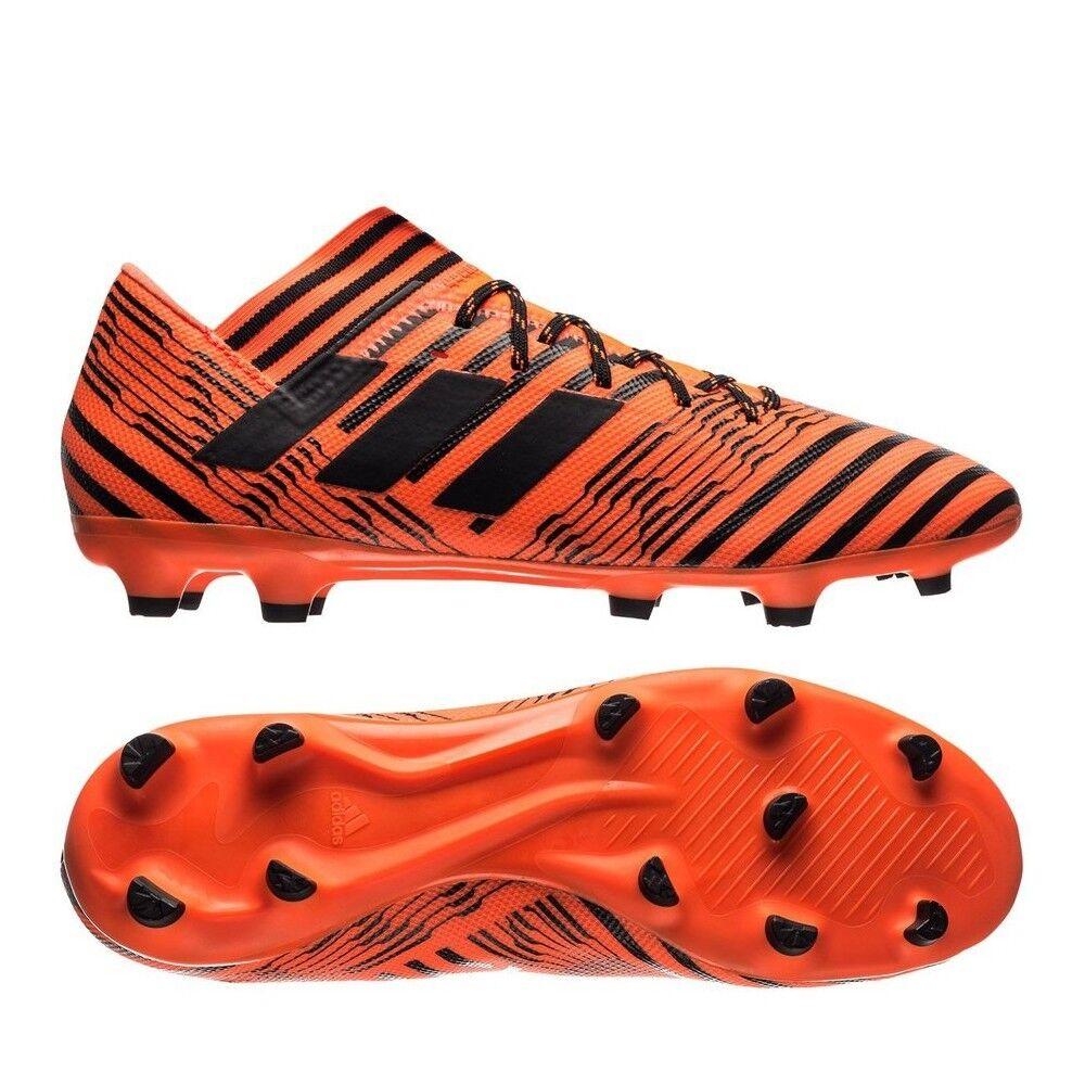Adidas Men's Nemeziz Messi 17.3 FG Soccer shoes Black orange S80604 Sz 8.5 - 11