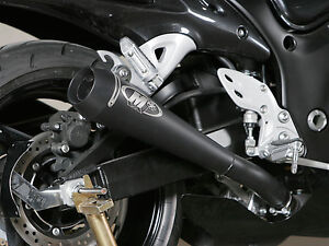 Details about M4 Exhaust Suzuki Hayabusa 2008-2019 Slip Ons with Retro Drag  Twin Mufflers