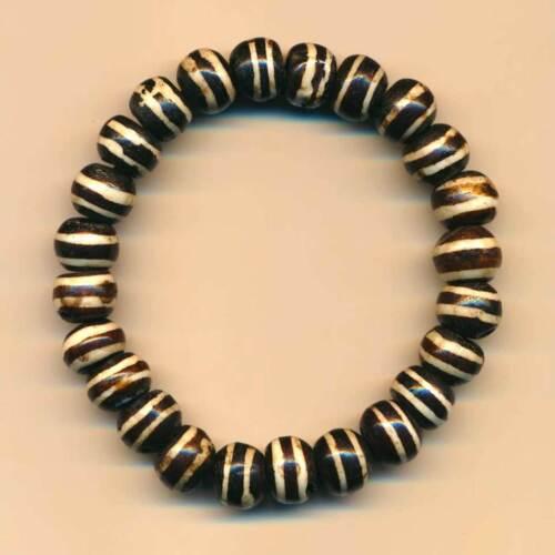 Pulsera marrón producto natural nepal yakhorn cirujana joyas india pulsera 72