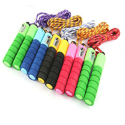 Adjustable Counter Skipping Jump Rope Workout Exercise Gym Fitness Jumping Skip