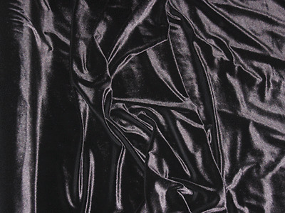 SUPERIOR QUALITY SPANDEX VELVET FABRIC (4 WAY STRETCH) - WIDTH 150 CM