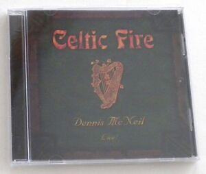 NEW sealed Celtic Fire  Dennis McNeil  Live!  CD