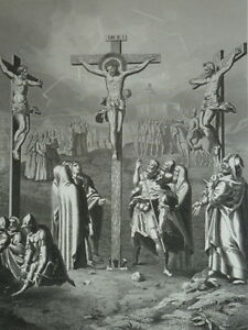 Jesus-Christ-in-Ses-Suffering-Eastern-Abreuve-Vinegar-Gravure-of-1863