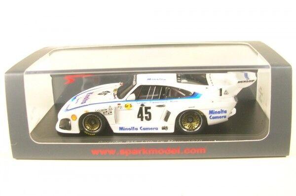 Porsche 935 k3 No. 45 LeMans 1979 (A. Plankenhorn-P. Gurdjian-J. hiver)