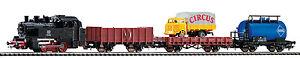 Piko 57111 Startset Güterzug Dampflok BR80 + Güterzug H0