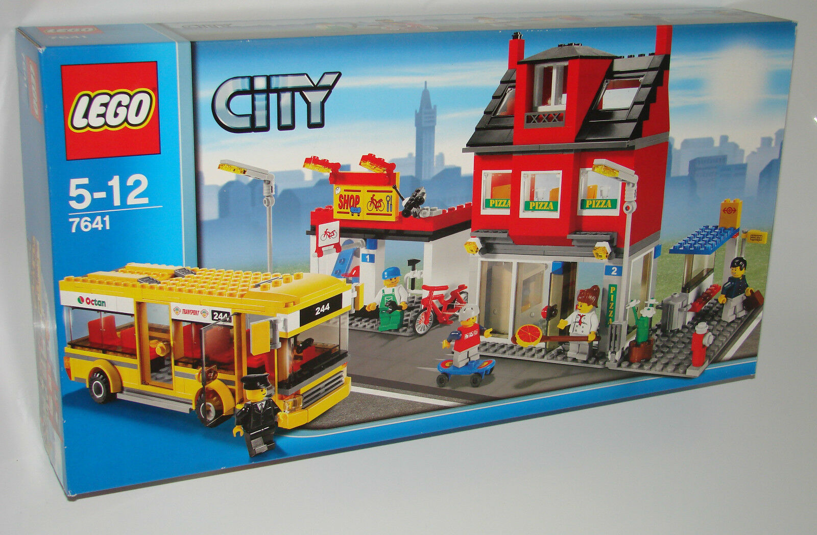 LEGO® City 7641 Stadtviertel mit Bus NEU NEU NEU OVP_ City Corner NEW MISB NRFB f77970