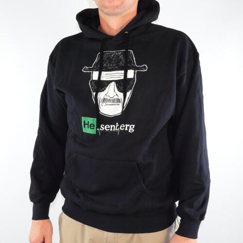 Heisenberg PIC Hoodie con Cappuccio Maglione Pullover Uomo Nero 29262