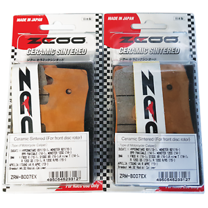 DUCATI-SCRAMBLER-ICON-800-2015-gt-ZCOO-RACING-BRAKE-PADS-2-SETS