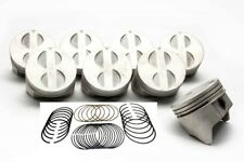 Ford 302ci 289ci Flat Top Pistons And Cast Rings Kit 030