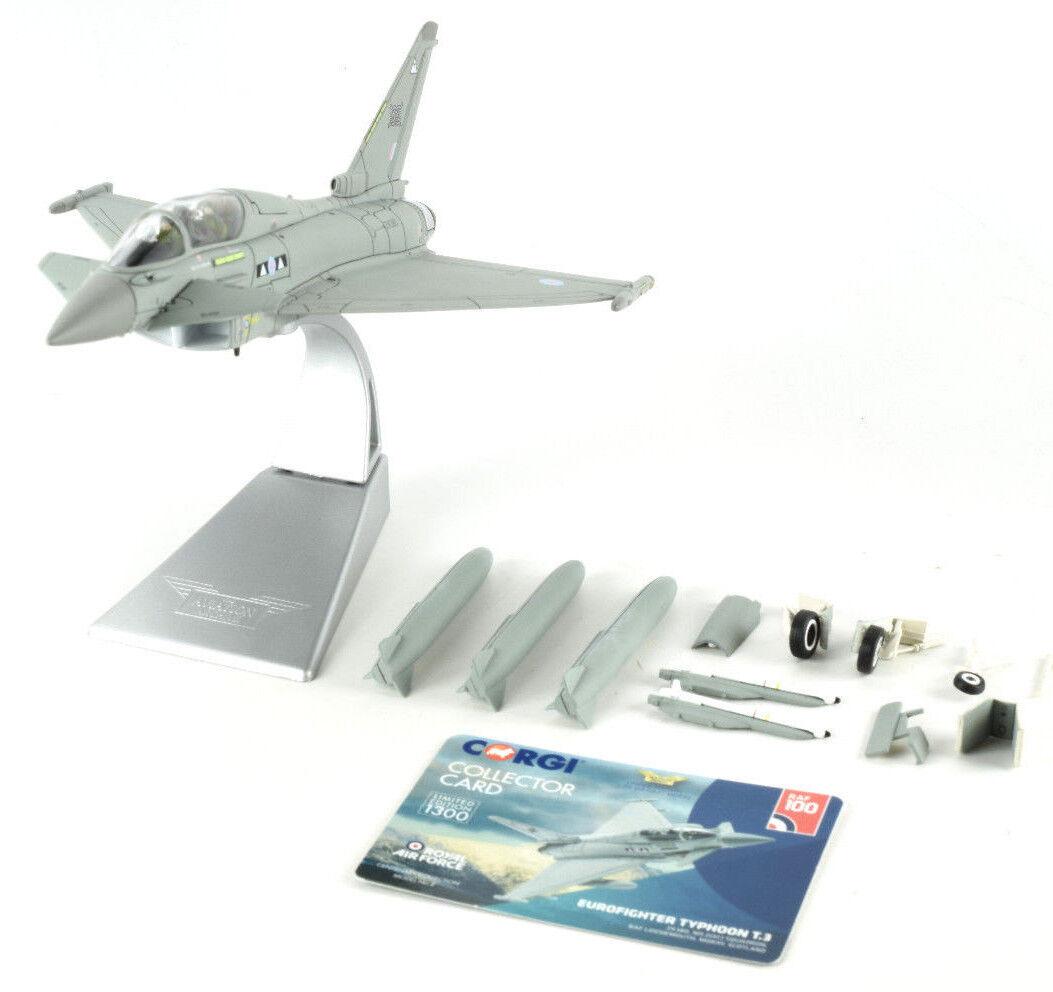 Corgi Eurofighter Typhoon T.3 Skottland 1 72 Die -Cast Airplan AA36409