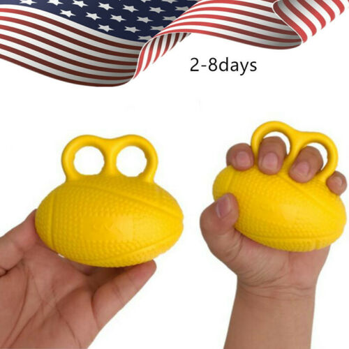 Finger Exerciser Exercise Ball Squeeze Ball Hand Wrist Exercise Stress Relief A+
