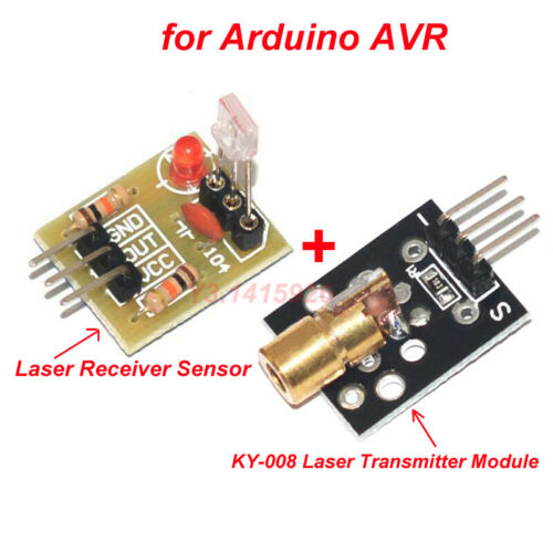 KY-008 Laser Transmitter Module for Arduino AVR Laser Receiver Sensor Module