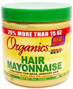 Organics-Hair-Mayonnaise-Treatment-For-Week-Damaged-hair-By-Africa-039-s-Best-511g