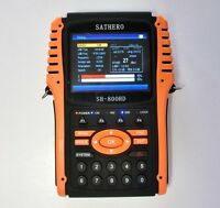 Sathero Sh-800hd 3.5inch Lcd Usb2.0 Hdmi Output Dvb-s2 Satellite Finder