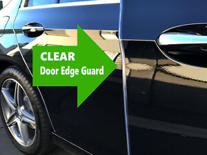 TRIM PROTECTOR 4 FEET CAR TRUCK SUV CLEAR DOOR EDGE GUARDS made in the USA!