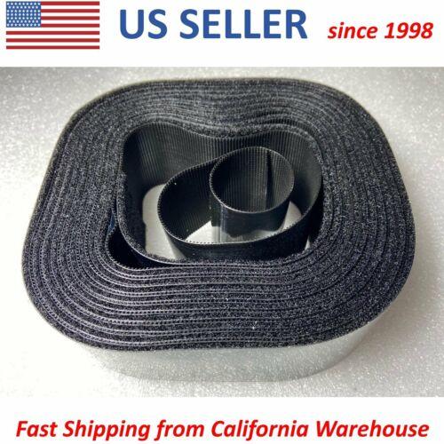 "2/""x15/' Roll Hook /& Loop Self Adhesive Heavy Duty Tape Industrial Sticky Fastener"