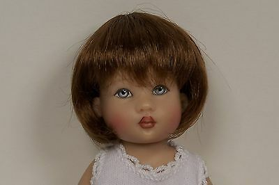 WIG Hannah CARROT RED Made For Helen Kish Riley Doll DEBs