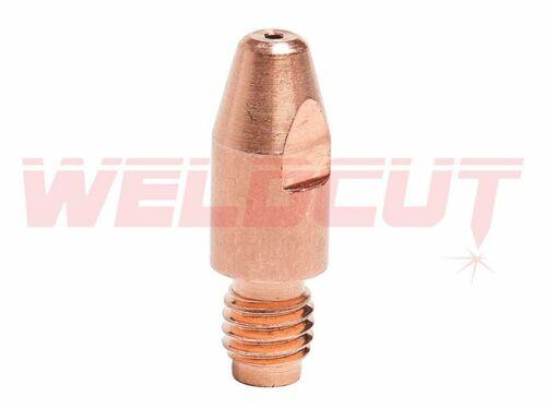 10x Stromdüse M8x30x1.0mm ALU Nr 141.0008 für Schweißbrenner MB501 MB36 Nachbau