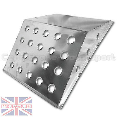 ALUMINIUM FOOT REST /FOOT PLATE/ALLOY NAVIGATOR FOOT REST/COMPBRAKE/RALLY*LARGE*