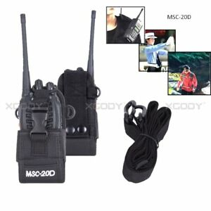 Multifunctions-Handsfree-Pouch-Bag-Case-For-Two-Way-Radios-Baofeng-Motorola-ect