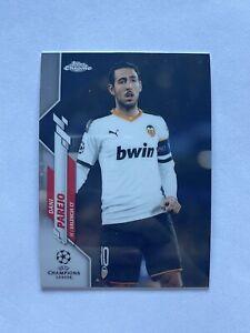 2019-20 Topps Chrome UEFA Champions League Dani Parejo Valencia CF Card #66