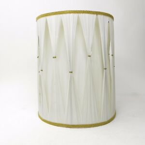Vintage-Mid-Century-Pinch-Pleat-Hollywood-Regency-Drum-Lamp