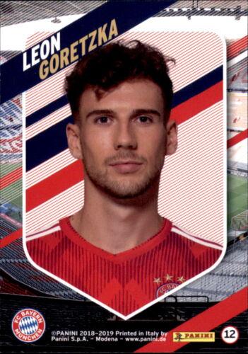 Leon Goretzka Panini FC Bayern München 2018//19 Karte 12