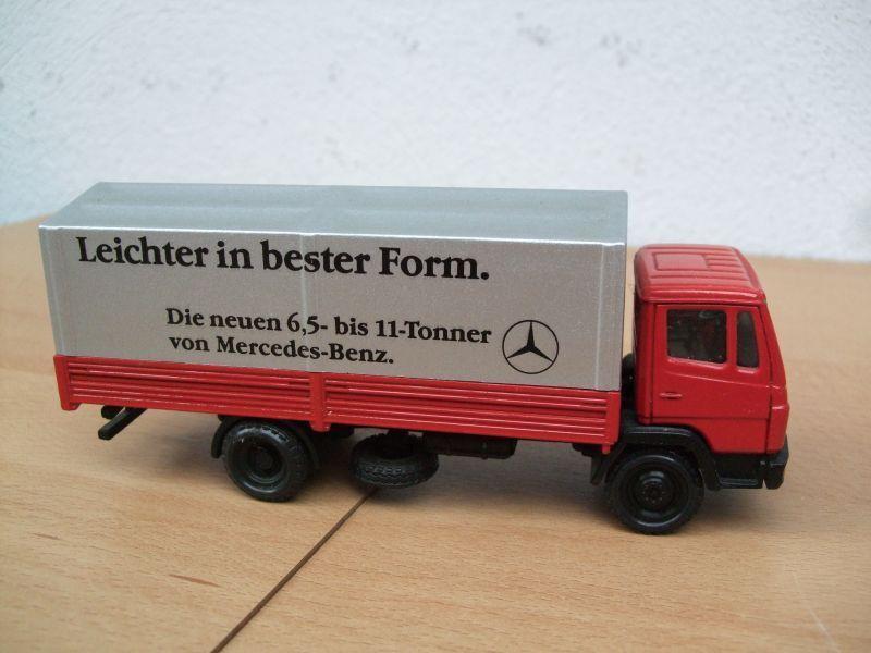 NZG 1 50 modelo Mercedes camiones con con con Mercedes publicidad 72f66b
