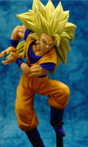 Action figure Goku Super Saiyan 3 sculpture 18 cm DRAGON BALL Z