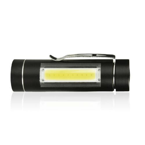 5000LM Aluminum Alloy COB LED Tactical Flashlight Torch LI