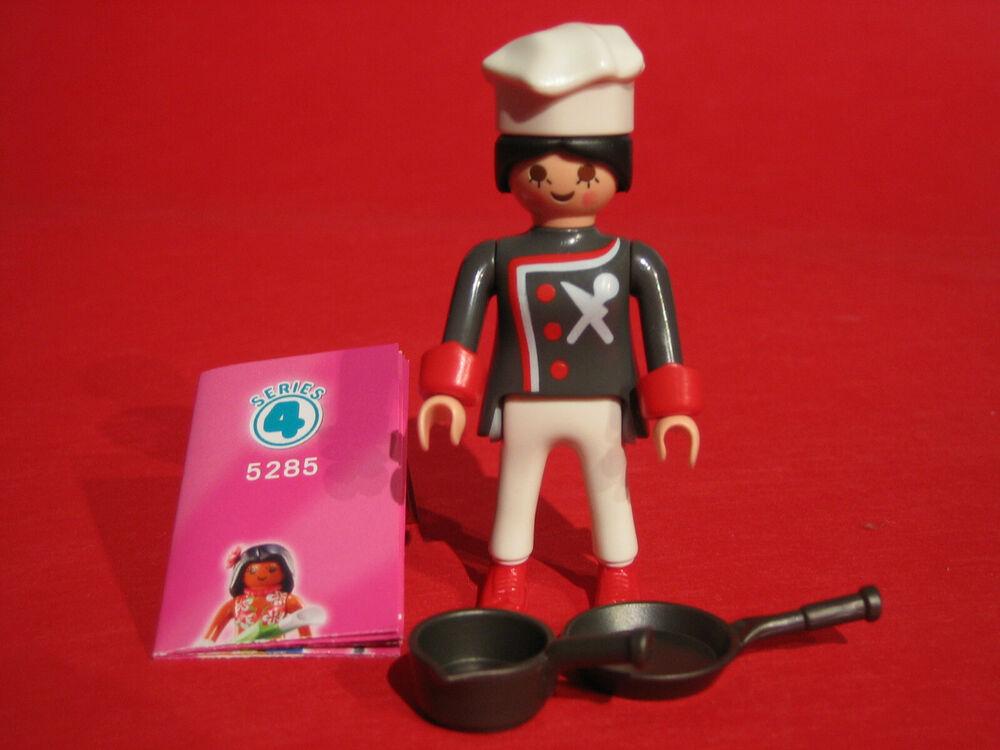 Playmobil Girls ** Série 4 ** Cuisinière -- Personnage 5285 Nouveau