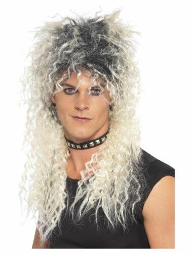 Men/'s anni 1980 anni/'90 Pop Stars Leggende Costume Parrucche Tributi Addio al Celibato Party a tema
