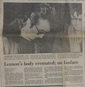Original-December-1980-Newspaper-San-Jose-Malthion-Spray-John-Lennon-Gun-Laws