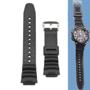 91527f600f8 18mm Original Watch Strap Band For Casio SGW 300H SGW 400H SGW 300 ...