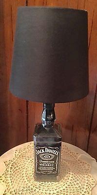 Black Label Jack Daniels Bottle Lamp