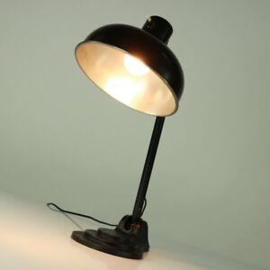 Hala-Tisch-Lampe-Arbeits-Lese-Leuchte-Vintage-Desk-Lamp-Bauhaus-30er-40er-Jahre