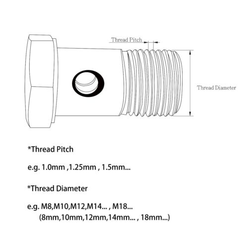 6AN 90Deg Banjo Bolt Kit Turbo Water Coolant M12x1.25mm For MHI IHI RHF5 RHF5H
