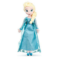 Disney Store Rare Authentic Patch Frozen Elsa Snow Queen Princess Plush Doll