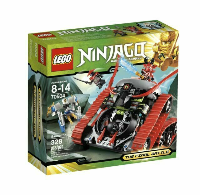 LEGO 70504 Ninjago Garmatron The Final Battle New Retired Set
