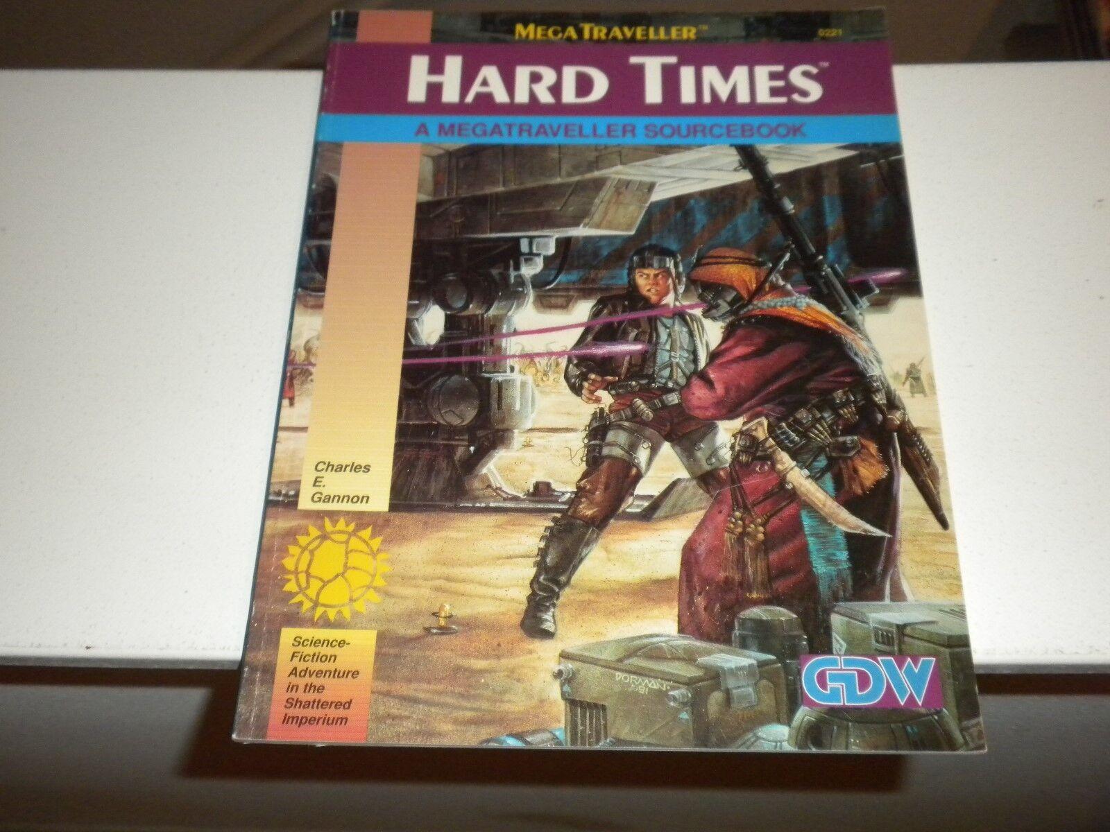 1991 MEGATRAVELLER Hard Times A Megatraveller Sourcebook