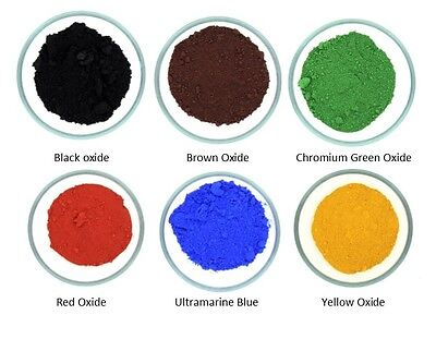 Cosmetic Grade Oxide Powders -Make your own Mineral Makeup & Soap Colour / Color