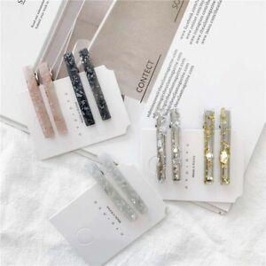 Japanese-Fashion-Flash-Gold-foil-Girls-Hairpins-Bangs-clip-Barrette-Hair-Clip