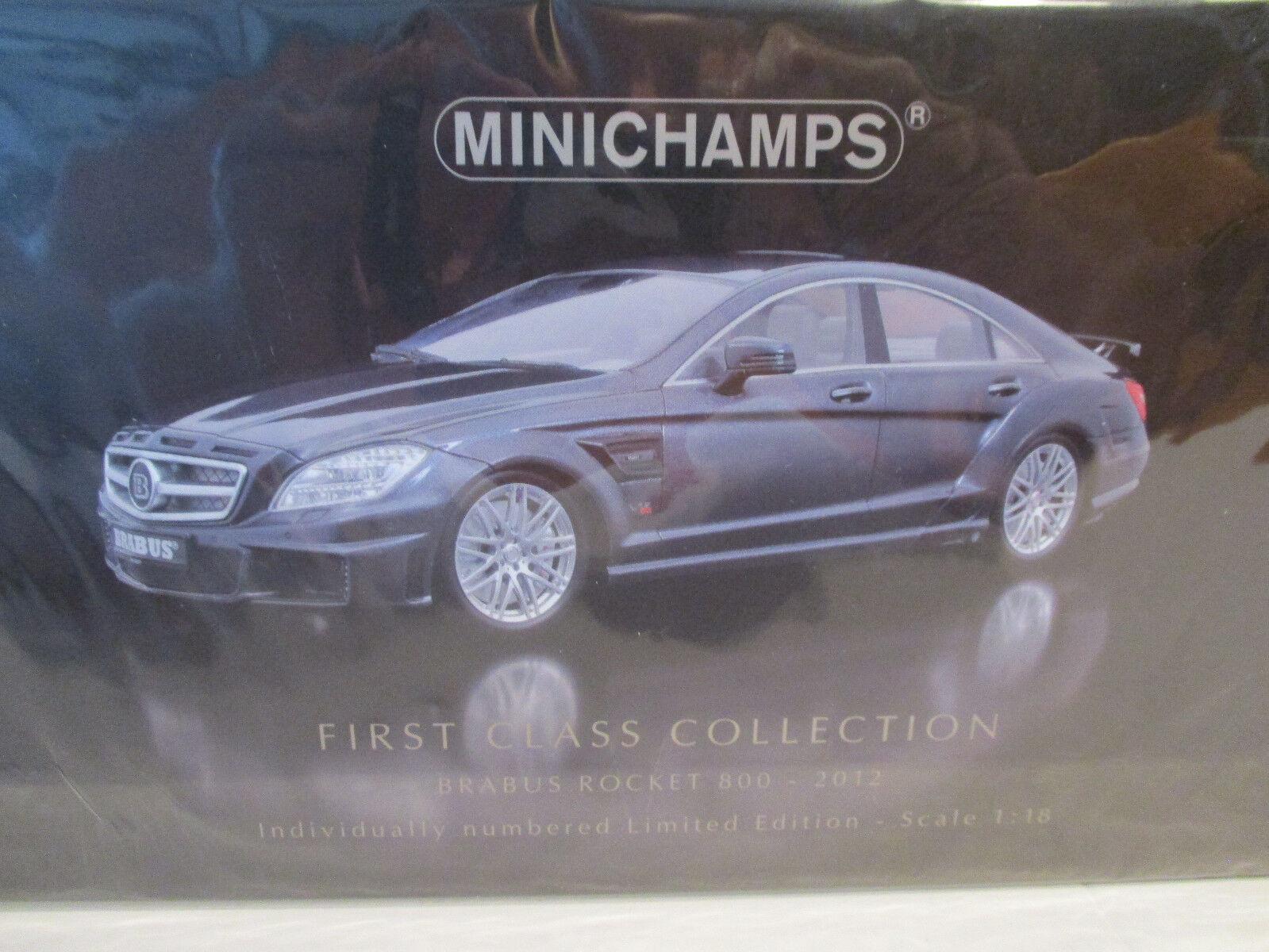 (Gol ) 1 18 Minichamps Brabus Razzo 800 2012 Nuovo Conf. Orig.