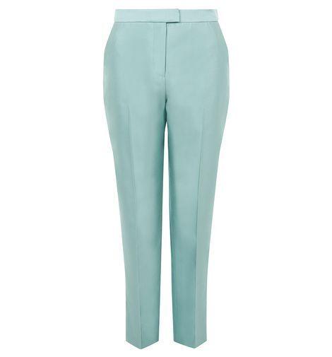 HOBBS COURTISAN Verdi vert tailleur pantalon. UK 16.