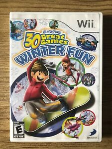 30-Great-Games-Winter-Fun-Nintendo-Wii-Complete-W-box-amp-Manual