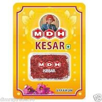 KASHMIRI SAFFRON/KESAR pure High Quality saffron sealed 1 Gram by MDH HERBAL EDH